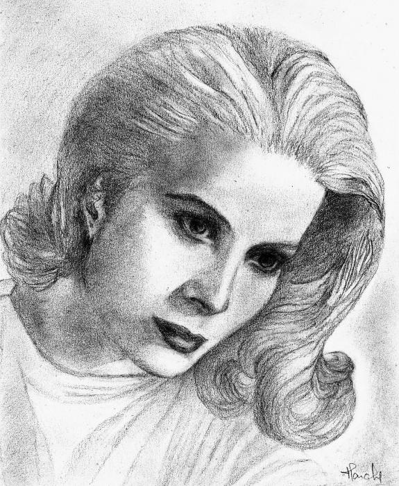 Grace Kelly by claireff1
